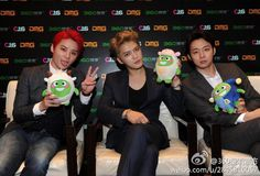 140822 Press Conference for 2014 JYJ Concert in Beijing 'RETURN OF THE KING'