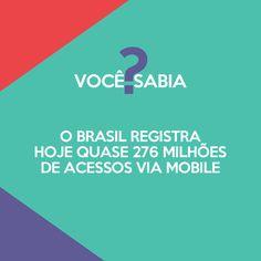 Cresce cada vez mais o número de acessos via smartphone no Brasil.Já imaginou se seus potenciais clientes tentarem acessar seu site e não tiverem uma boa experiência de visualização? Certamente eles não voltarão a acessá-lo novamente e acabarão fechando negócio com seus concorrentes. Mais de 276 milhões de motivos para que o site da sua empresa seja responsivo!    #bravo #bravocreative #linkspatrocinados #googleadwords #planejamento #estrategia #tecnologia #adwords #facebookads #wazeads…