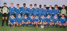 Sporting Etoile Club Bastia 1988-89 Debout : Ceccarelli, Fairclough (non retenu), Moracchini, Traore A., Pantaloni, Gottardi, Faye, Marchioni,Gilles, Triki, Valencony. Accroupis : Lippini, Padovani, Pietronave, Ottaviani, Bianconi, Antonetti, Duvillie, Maroselli, Chiari.