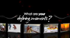 Defining Moments in Travel.