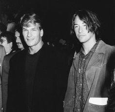 Patrick Swayze and Keanu Reeves