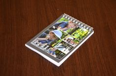 A special personalised photo gift! Personalised Notebooks, Personalized Photo Gifts, Polaroid Film