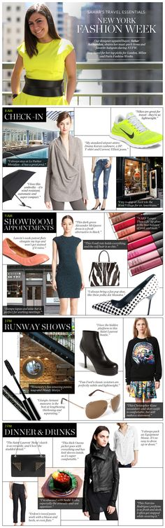 What to pack for Fashion Week