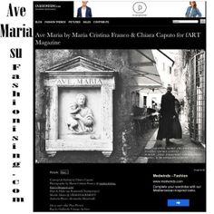 Editorial Ave Maria su Fashionising.com Photographer: Maria Cristina Franco Styling : Chiara Caputo Mua&Hair: Raimondo Santiprosperi Model : Maria Tn@Vrmanagement Assistant photo : Alessandro Mancinelli Location: Roma