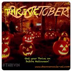 Get your THRIVE on today! Beat those Halloween cravings. www.shannaross.le-vel.com