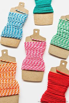DIY: Dressform Embroidery Thread Holders   Template