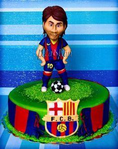 Leo Messi Cake - Cake by MLADMAN