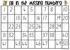 Great for learning and finding numbers - I would use this in French class like reverse bingo. Each student has a different board, I call random numbers, when all their missing numbers have been called, they win.
