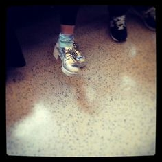 #shoes #silver