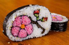 Sushi de flor
