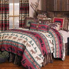 Country Quilts - add rustic charm to your bedroom with Primitive bedding, comforters and quilts