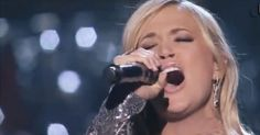 INCREDIBLE performance of How Great Thou Art by Carrie Underwood with Vince Gill - Music Videos