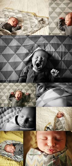 Love this style of NB photography. Original. Enough of shoving babies in weird baskets and posing them in unnatural ways!! edmonton newborn photographer by andrea.hanki, via Flickr