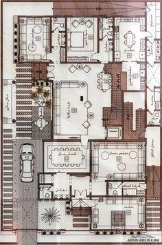 20x30 House Plans, Guest House Plans, 3d House Plans, Simple House Plans, Model House Plan, House Layout Plans, Family House Plans, House Layouts, House Floor Design
