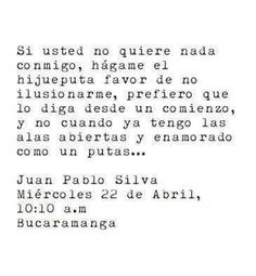 Juan Pablo Silva.