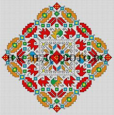 Folk Embroidery, Learn Embroidery, Cross Stitch Embroidery, Embroidery Patterns, Machine Embroidery, Cross Stitch Rose, Cross Stitch Flowers, Cross Stitch Designs, Cross Stitch Patterns