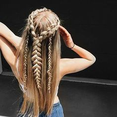 Braid level = expert!How cool would these be for a festival? #sourceunknown #TeamBB