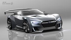 Introducing the SUBARU VIZIV GT Vision Gran Turismo - http://tynanmotors.com.au/introducing-subaru-viziv-gt-vision-gran-turismo/