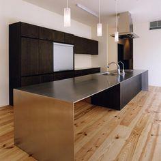 建築家:中庭のある家|水谷嘉信建築設計事務所「中庭と水盤のある家02」