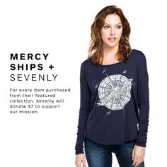 We are excited to announce that Mercy Ships is featured on #Sevenly this week. For every item purchased from their new collection, inspired by our cause, Sevenly will donate $7 to support our mission and support the #AfricaMercy. See the entire collection here: www.sevenly.org/mercyships PS: If you can, please spread the word about this campaign. Thank You!