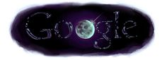 """NASA finds water on the moon – NASA calls discovery of water on the moon """"a new chapter. Images Google, Art Google, Doodle Google, Nasa, Moon On The Water, Science Doodles, Google Banner, Doodle Art, Discovery"""