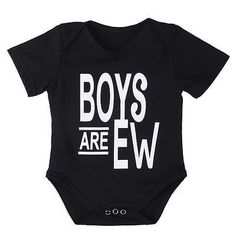 Now available at Lulubye: Boys Are Ew Onesie Check it out http://www.lulubye.com/products/boys-are-ew-onesie?utm_campaign=social_autopilot&utm_source=pin&utm_medium=pin! #baby #boy #girl #babyshower #2016 #lulubye #daughter #son