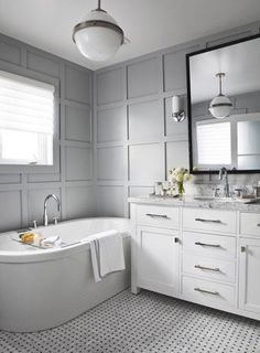 WHITE + GOLD: WAINSCOTING - A LOOKBOOK