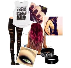 Perfect Teen Fashion, Fashion Shoes, Womens Fashion, Swag Style, My Style, Warped Tour, Girly Things, Girly Stuff, New Look