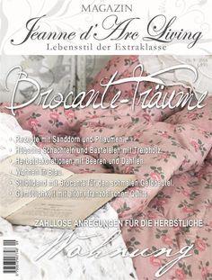 Reservierung Jeanne d Arc Living Magazin 09 2016 Shabby Chic September Vintage
