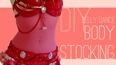 DIY Belly Dance Body Stockings (Belly Stocking) tutorial and video