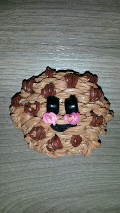 Rainbow Loom Happy Cookie 3D