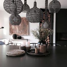 Modernism, Zen, House Design, Organic, Ceiling Lights, Dining, Interior, Inspiration, Furniture