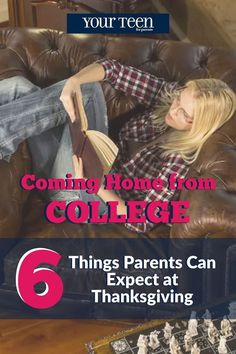 """Wondering what'll it'll be like having your newly minted college student home for Thanksgiving? Here are a few things your """"thankful"""" college freshman will do when they come home for Thanksgiving break."""