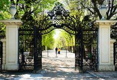 Schonbrunn Palace Garden Walk, Vienna