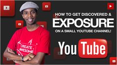 How to Grow a Small YouTube Channel: How to Get Exposure on YouTube and Get Discovered. Growing a Small YouTube Channel can be hard so here is how to get exposure on Youtube. Getting exposure on YouTube to grow your channel is not limited to YouTube shout outs or Collaborations. In fact the best and most reliable way to get discovered on YouTube is to take advantage of YouTube Search since that is the primary feature of the platform. One of the Best Tools for Mastering YouTube Search is…