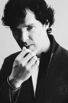 Benedict Cumberbatch-- He looks like he's contemplating on kissing me! I'm puckering up! ;-)