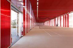 Sports centre Jules Ladoumègue | DFA | Dietmar Feichtinger Architectes | Archinect