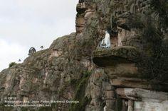 Las piedras de Suesca Cundinamarca en los alrededores de Bogotá