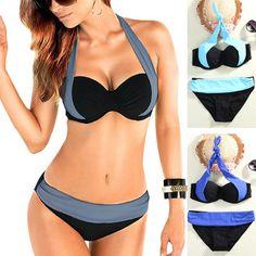 2017 Hot Bikinis Women Triangle Push-Up Swimsuit Bandeau Swimwear Female Swimsuit Woman Beachwear Bikinis Set Biquinis