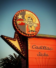 ۞ ۩ ♫ Cadillac Jack's......Los Angeles, California