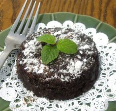Dollhouse Bake Shoppe: 3 Minute Single Serving Brownie For One (egg free, dairy free & vegan option)