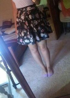 Kup mój przedmiot na #vintedpl http://www.vinted.pl/damska-odziez/spodnice/10060977-spodnica-w-kwiaty