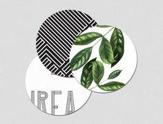 Branding © Charlene Sepentzis Branding LAUREA  I Singular Graphic design