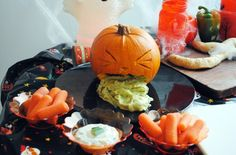 Halloween-recipes-pumpkin-dip