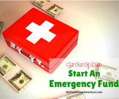 Get Out Of Debt: Start An Emergency Fund: Believe it when I tell you that saving money will help you get out of debt. Learn how here.