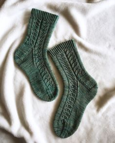 Ravelry: Wood Nymph pattern by This Handmade Life – Knitting Socks Crochet Socks, Knitting Socks, Knitting Stitches, Baby Knitting, Knit Crochet, Knit Socks, Knitting Designs, Knitting Patterns Free, Knitting Projects