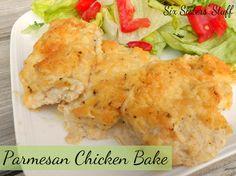 Six Sisters' Stuff: Parmesan Chicken Bake
