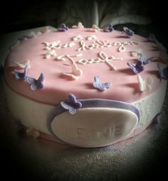 Taufe Favors, Cake, Desserts, Food, Homemade, Pies, Pie Cake, Presents, Meal
