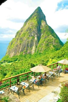 St. Lucia. Going there tomorrow!