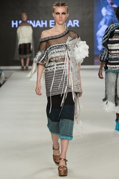 Outfit 4 - Knit, Embroidery, Weave and tulle